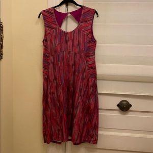 Prana Azalea Cutout Athleisure Dress